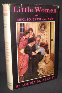 Louisa M Alcott Little Women Jessie Willcox Smith HBDJ