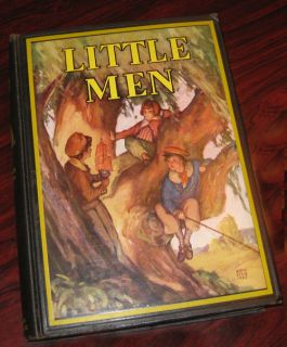 Little Men Louisa May Alcott Harve Stein Illustrations HC Book 1933