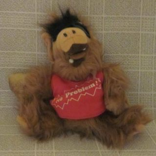 ALF Alien Plush Doll No Problem Sunglasses Made in Korea
