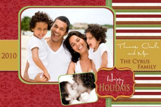 Gorgeous Custom Personalized Holiday Cards Digital File Print Yourself