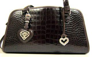 Brighton Collection Alesha Brown Leather Handbag