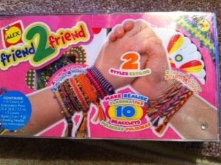 Brand New Alex Friend 2 Friend Friendship Bracelet Kit