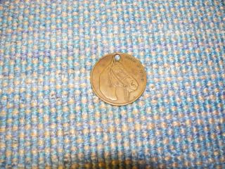 Vintage Man O War Horse Racing Commemorative Coin Token Medal