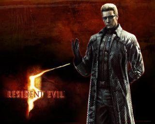 Hot Toys Biohazard Albert Wesker T800 Resident Evil