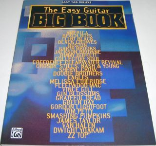 The Easy Guitar Big Book Easy Tab Deluxe Song Book New