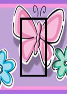 Butterfly Floral Teens Light Switch Plate Cover GFI