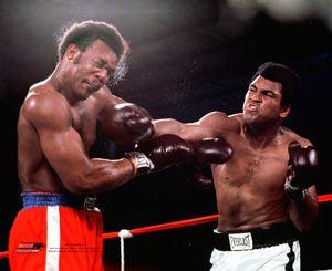 Muhammad Ali KNOCKOUT PUNCH vs George Foreman 1974 Premium Boxing