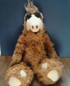 Vintage 1986 Plush 18 ALF The Alien Stuffed Doll Coleco TV Show Free