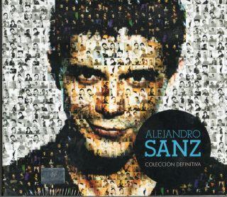 Alejandro Sanz Coleccion Definitiva 2 CDs DVD 34 Videoclips