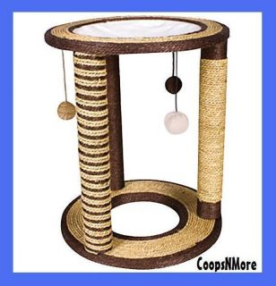 ★cat Scratch Post Great Color for All Decor Scratching Condo