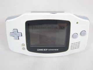Nintendo Game Boy Advance Junk Console AGB 001 Gameboy White 21810