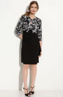Alex Evenings Sequin Jersey Sheath Dress & Bolero (Plus) Size 22W