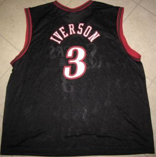 ALLEN IVERSON PHILADELPHIA 76ERS CHAMPION BASKETBALL JERSEY ADULT SIZE