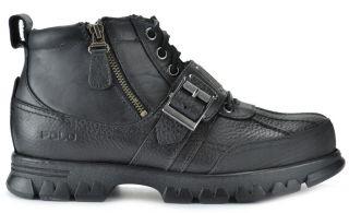 Polo Ralph Lauren Allendale Mens Ankle Boots Black Black 812143029001