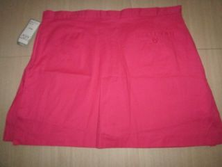AW Golf by Allyson Whitmore Petite 16 Size 16P Pink Cart Flag Cotton