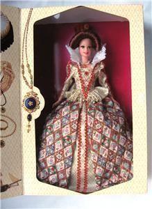 Barbie Elizabethan Queen Great Eras 1994 Vol 6 Mint NRF
