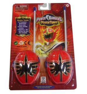 New Style Power Rangers Walkie Talkie Kids Toy