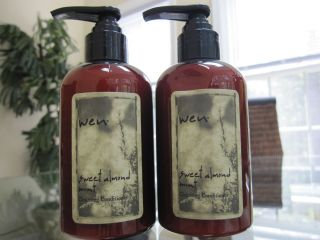 Wen by Chaz Dean Set of 2 Sweet Almont Mint Cleansing Conditioners New