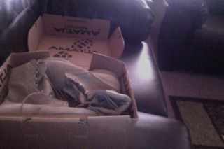 Vibram Altama Footwear Desert Tan Combat Boots Size 11 1 2 XW