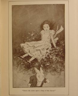 Alice in Wonderland Antique Through The Looking Glass