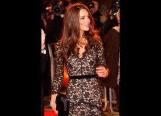 Alice Temperley London Black Lace Dress UK 6 US 2