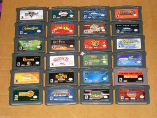 15 00 Each Game Boy Advance Games Your Choice You Pick What You Want