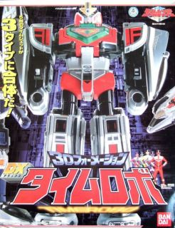 Power Rangers Deluxe Time Force Megazord Japan New Unopened Sentai
