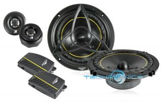 Kicker DS600 2 6 1 2 240W Max 2 Way Component Car Audio Panel Speaker