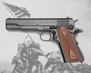 Replica M1911 45 Colt Automatic 1911 World War 2 MGC Non Firing Pistol