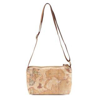 ALVIERO MARTINI PRIMA CLASSE Geo Soft Woman Shoulder Bag N016 New