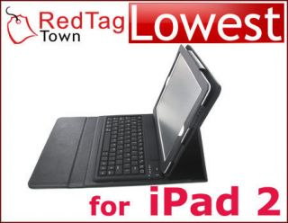 Leather Case Bluetooth Keyboard for Apple New iPad 3