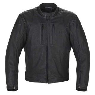 Alpinestars Helius Black White Leather Jacket Size 2XL