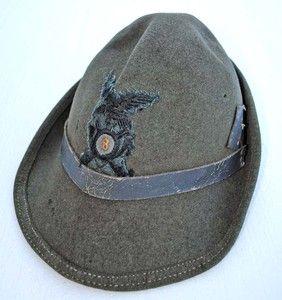 WWII Italian Alpini Hat Mountain Troops 2