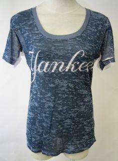 Touch New York Yankees Girls Shirt Alyssa Milano New S