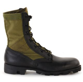 ALTAMA Military Green Jungle Boots Milspec Leather Canvas Sizes 7 13