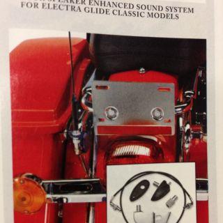 Harley Davidson Antenna Relocation Kit Am FM