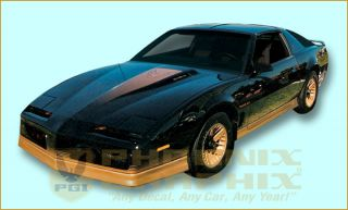 1984 Pontiac Firebird Trans Am Decal & Stripe Kit