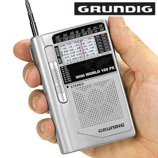Shortwave NIB AM/FM Radio Mini World 100 PE   Pocket Sized & Powerful