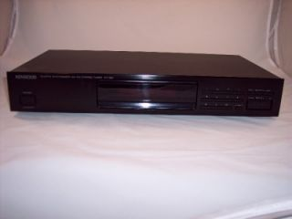 item kenwood kt 591 quartz synthesizer am fm stereo tuner