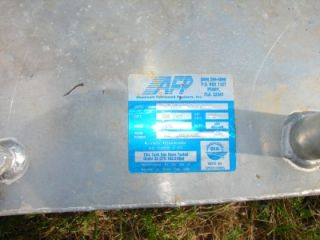 Large afp Aluminum Boat Marine Fuel Gas Tank 33 Gallon