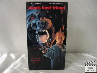 Mans Best Friend VHS Ally Sheedy Lance Henriksen