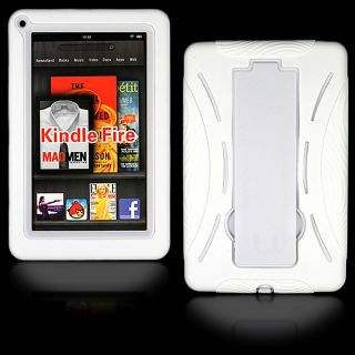 Kindle Fire Tablet Heavy Duty Soft Hard Stand Case Cover Full