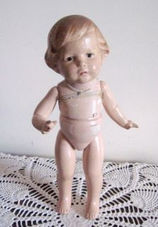 Lovely Antique Edwina Composition Doll by Amberg