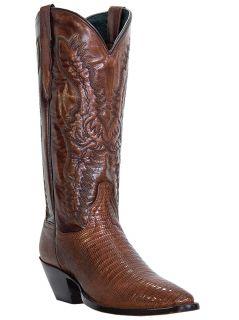 Womens Cowboy Boots Dan Post Amelia Teju Lizard Wide C D w J Toe Brown