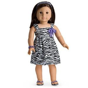 American Girl Safari Sundress Outfit for Doll New in AG Box Retired