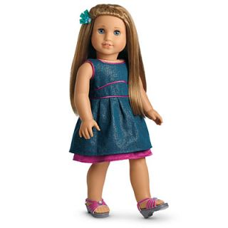 New in Box American Girl Doll of The Year McKennas Fancy Outfit 2012