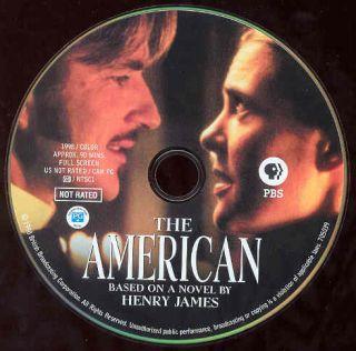 TH American DVD Movie Henry James Modine Diana Rigg PBS