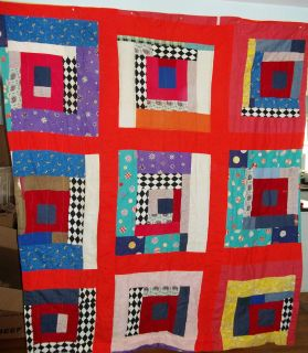 Antique African American Quilt Southern United States 1940S