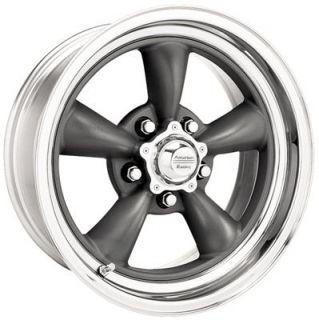 American Racing Classic Torq Thrust II Gray Painted Wheel 17x11 5x4