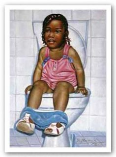 African American Art IM A Big Girl Now by Hulis Mavruk
